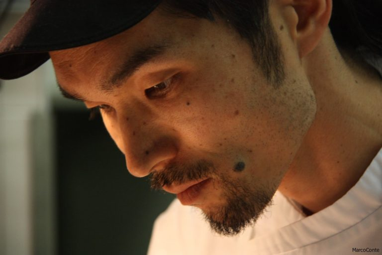 """Jumpei Kuroda, un giapponese ai fornelli de """"I due Buoi"""" di Alessandra"""