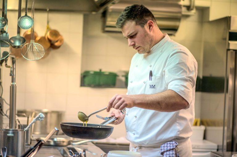 Matteo Metullio, in Alta Badia c'è uno chef che passa di primato in primato