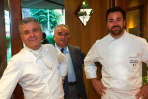 Valentino Marcattilii, chef ad Imola che è tra i padri della moderna cucina italiana