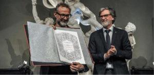Da Modena a Carrara, questa volta per Massimo Bottura la laurea ad honorem è in Belle Arti