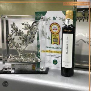 """Al Frantoio Filippi il prestigioso primo Premio del Concorso internazionale """"Aipo d'Argento 2019"""" con il blend """"Manso"""""""