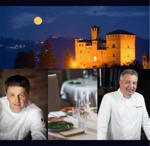 """""""i cibi raccontano…"""" a Grinzane Cavour con gli Chef stellati Marc Lanteri e Andrea Canton"""