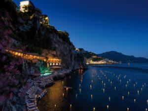 """Giuseppe Stanzione e quel """"Glicine"""" dell'Hotel Santa Caterina ad Amalfi. Un connubio che porta molti frutti"""
