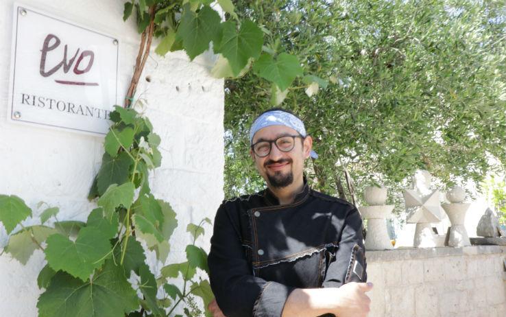 """Creatività, amore per il buon cibo ed innate doti artistiche. Ecco Gianvito Matarrese ed il suo """"Evo"""" ad Alberobello"""