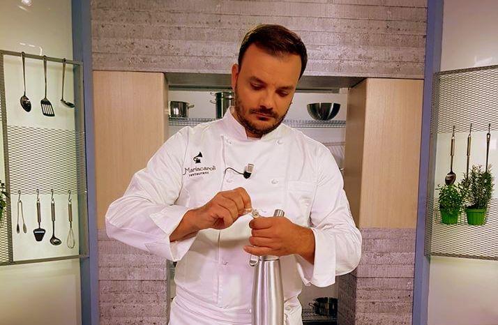 Terra, mare e Vesuvio nella cucina del giovane chef gourmet Salvatore Piccolo