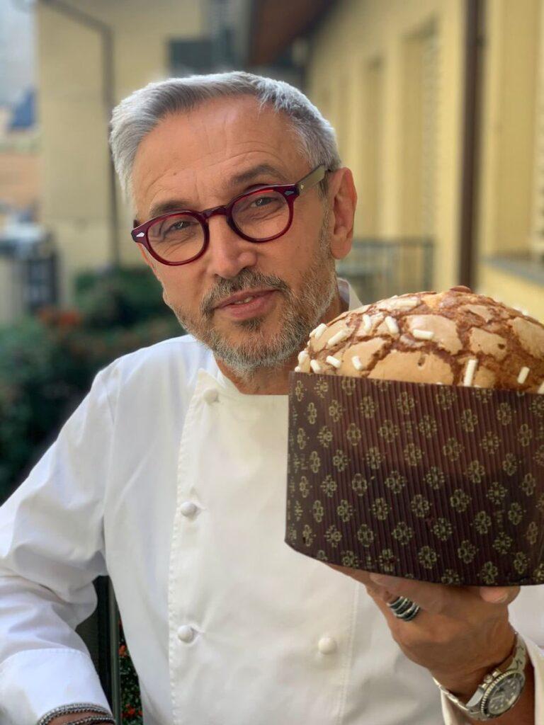 Ecco come si realizza il panettone di Natale dello chef Bruno Barbieri