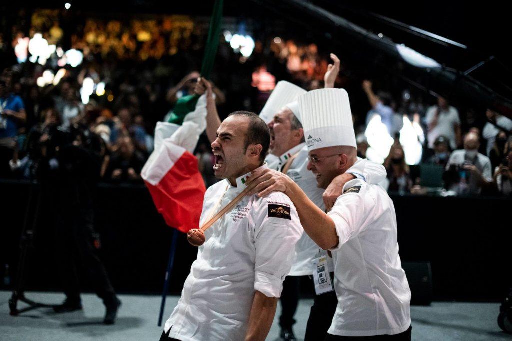 A Lione in Francia l'Italia è campione del mondo di pasticceria 2021